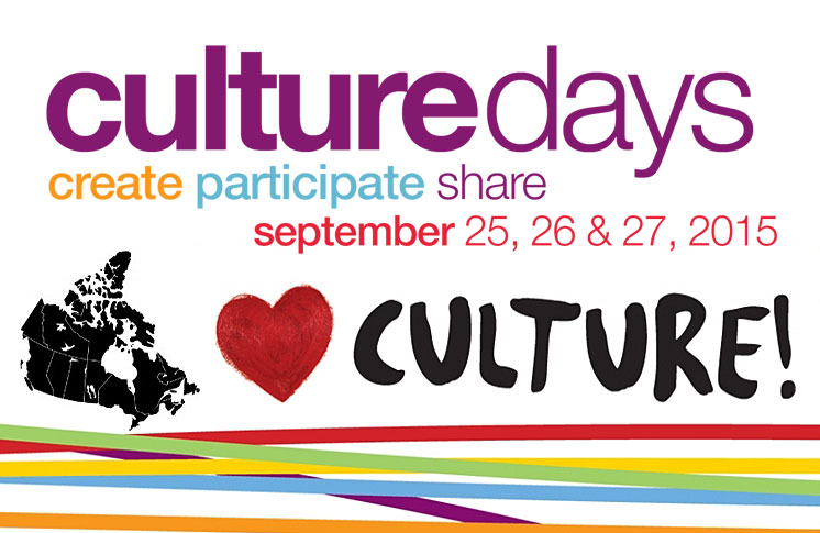 ONTARIO CULTURE DAYS CELEBRATES CRAFT YEAR 2015!