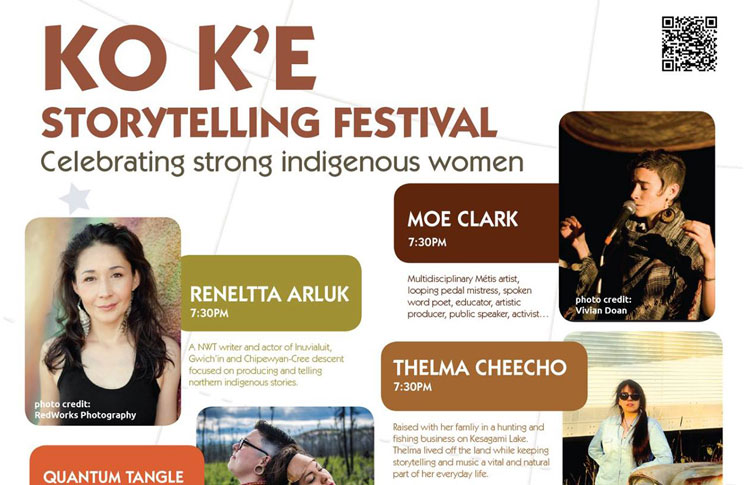 KO K'E STORYTELLING FESTIVAL | CELEBRATING STRONG INDIGENOUS WOMEN