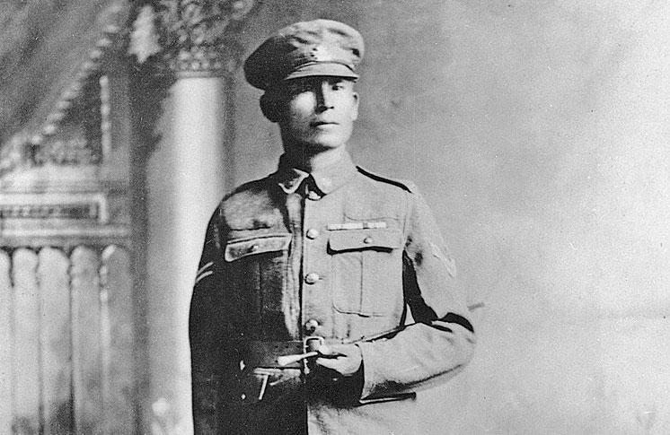 COMMEMORATION OF FIRST NATIONS WWI HERO GETS FUNDING BOOST