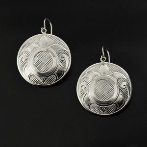 Turtles - Silver Earrings | Photo Source: Lattimer Gallery