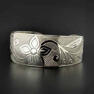 Floral - Silver Bracelet | Photo Source: Lattimer Gallery