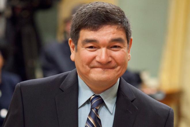 Conservative candidate Peter Penashue   Image source: hilltimes.com