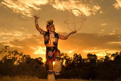 """Songs, dances and drumming are ways to create """"wellness vibrations."""""""