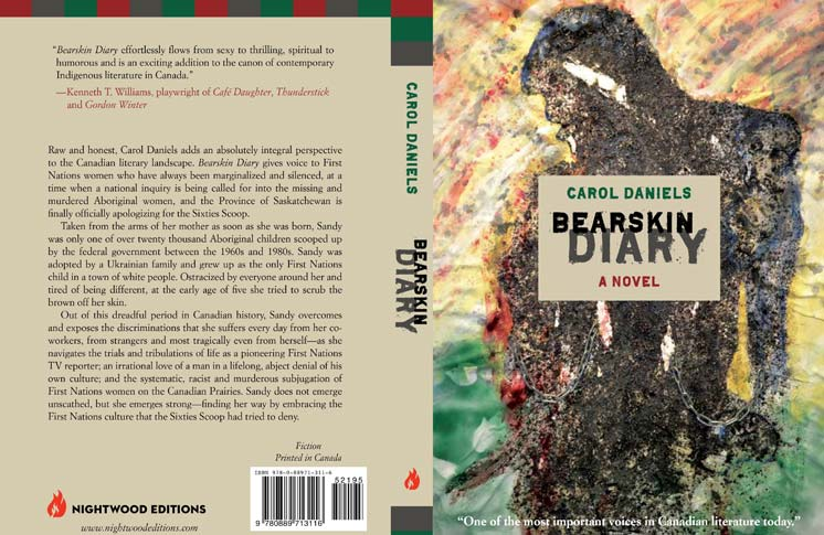 BOOK LAUNCH, AUTHOR READING AND RECEPTION FOR BEARSKIN DIARY A NOVEL BY CAROL DANIELS