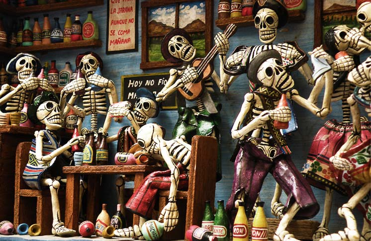 HAPPY DIA/DAY DE/OF LOS/THE MUERTOS/DEAD!
