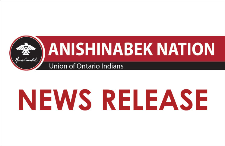Anishinabek stand with Iroquois Caucus condemning radioactive shipping across Anishinabek and Iroquois Territories