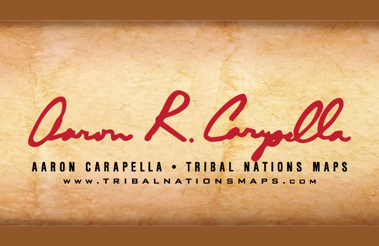BRAND NEW SOUTH AMERICAN TRIBAL MAP RELEASED