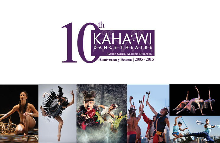 KAHA:WI DANCE THEATRE (KDT) AND ARTISTIC DIRECTOR SANTEE SMITH ARE RECENT AWARD RECIPIENTS