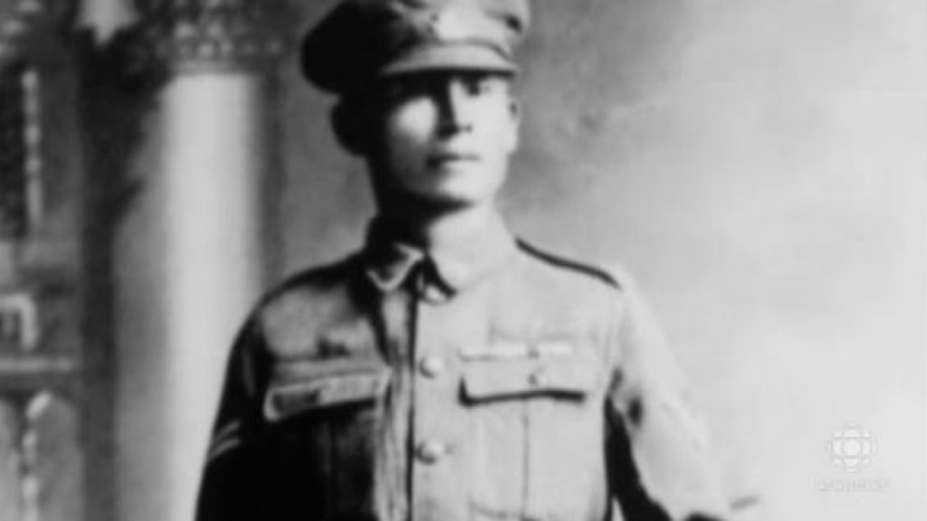 Corporal Francis Pegahmagabow | Image source: cbc.ca