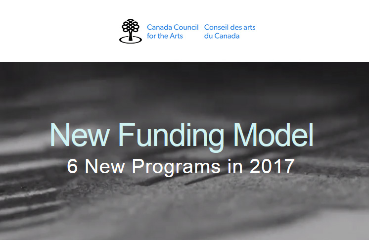 New Funding Model Webinar – Canada Council for the Arts