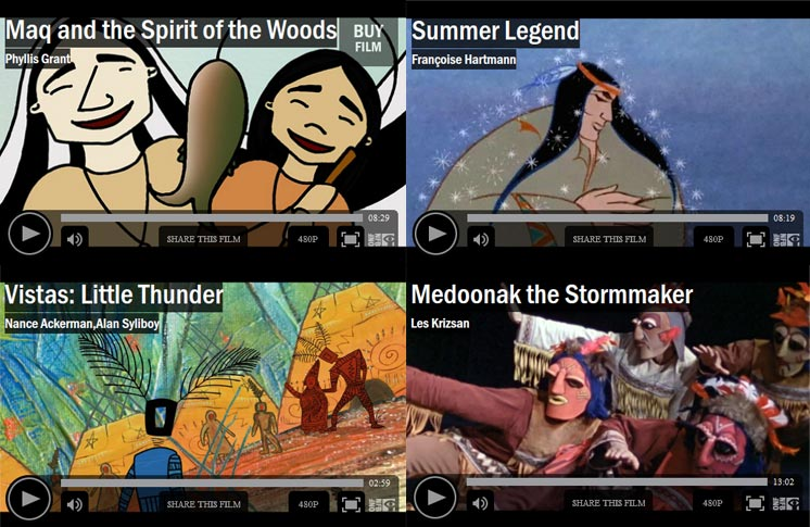 WATCH 4 MI'KMAQ LEGENDS COME TO LIFE ON NFB.CA