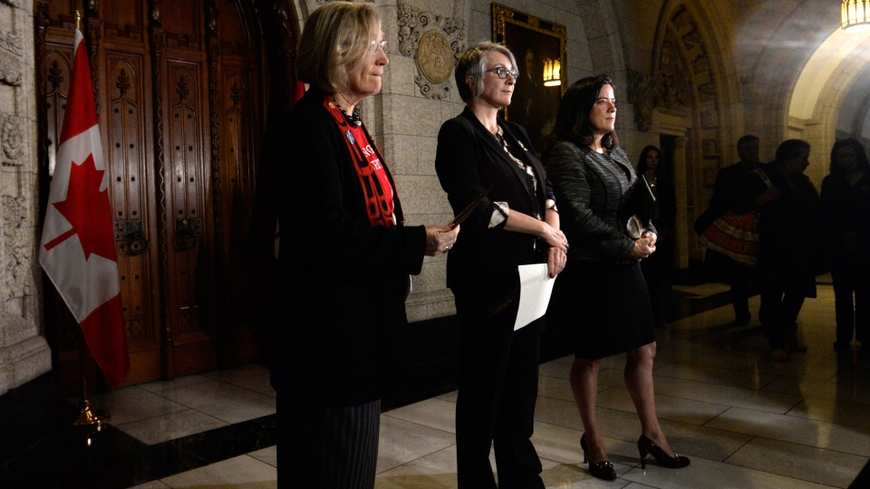 Carolyn Bennett, Patricia Hadju, Jody Wilson- Raybould, Missing and Murdered Indigenous Women Inquiry