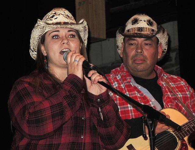 Performers, Lisa McLaughlin and James Lewis