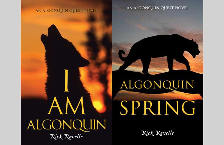 "RICK FEVELLE BOOK SIGNING – ""I AM ALGONQUIN"" AND ""ALGONQUIN SPRING"""