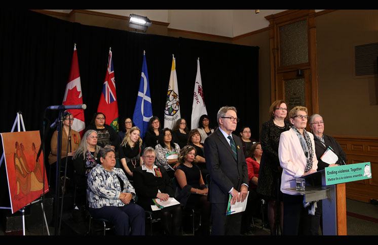 ONTARIO ACTING TO END VIOLENCE AGAINST INDIGENOUS WOMEN