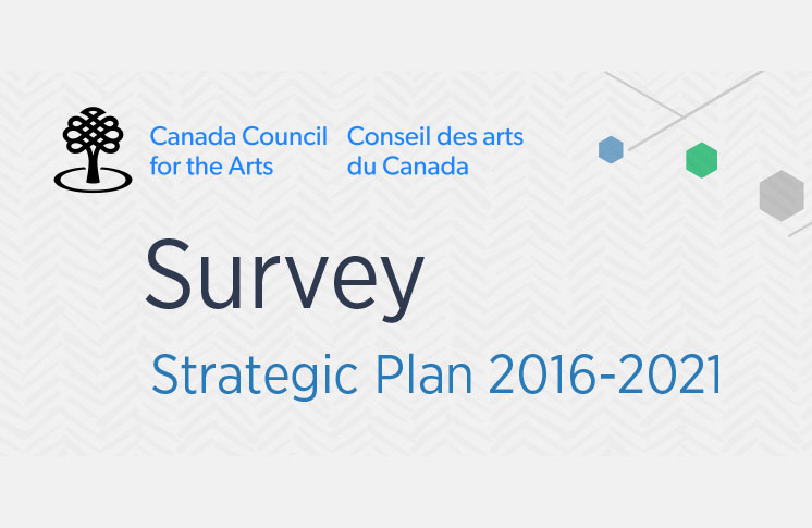 CANADA COUNCIL FOR THE ARTS STRATEGIC PLAN SURVEY