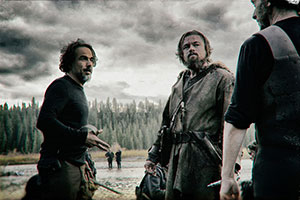 Star,DiCaprio; Director, Iñárritu; and Cinematographer, Civo