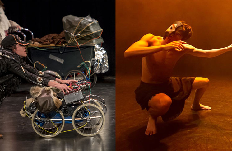 An Indigenous Dance Double Bill  Luu hlotitxw: Spirit Transforming by Dancers of Damelahamid and NGS (Native Girl Syndrome)