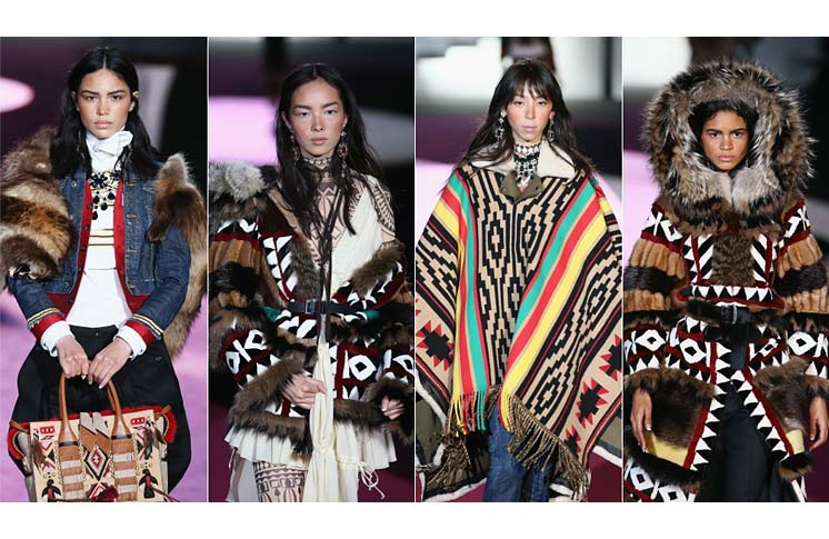 FASHION DESIGNERS APOLOGIZE FOR INSULTING INDIGENOUS PEOPLE
