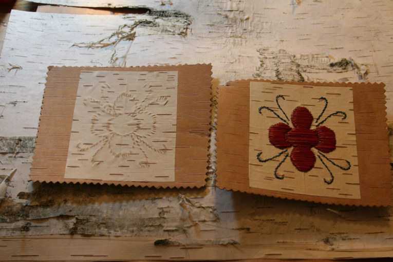 HEALING THROUGH BIRCH BARK BITING