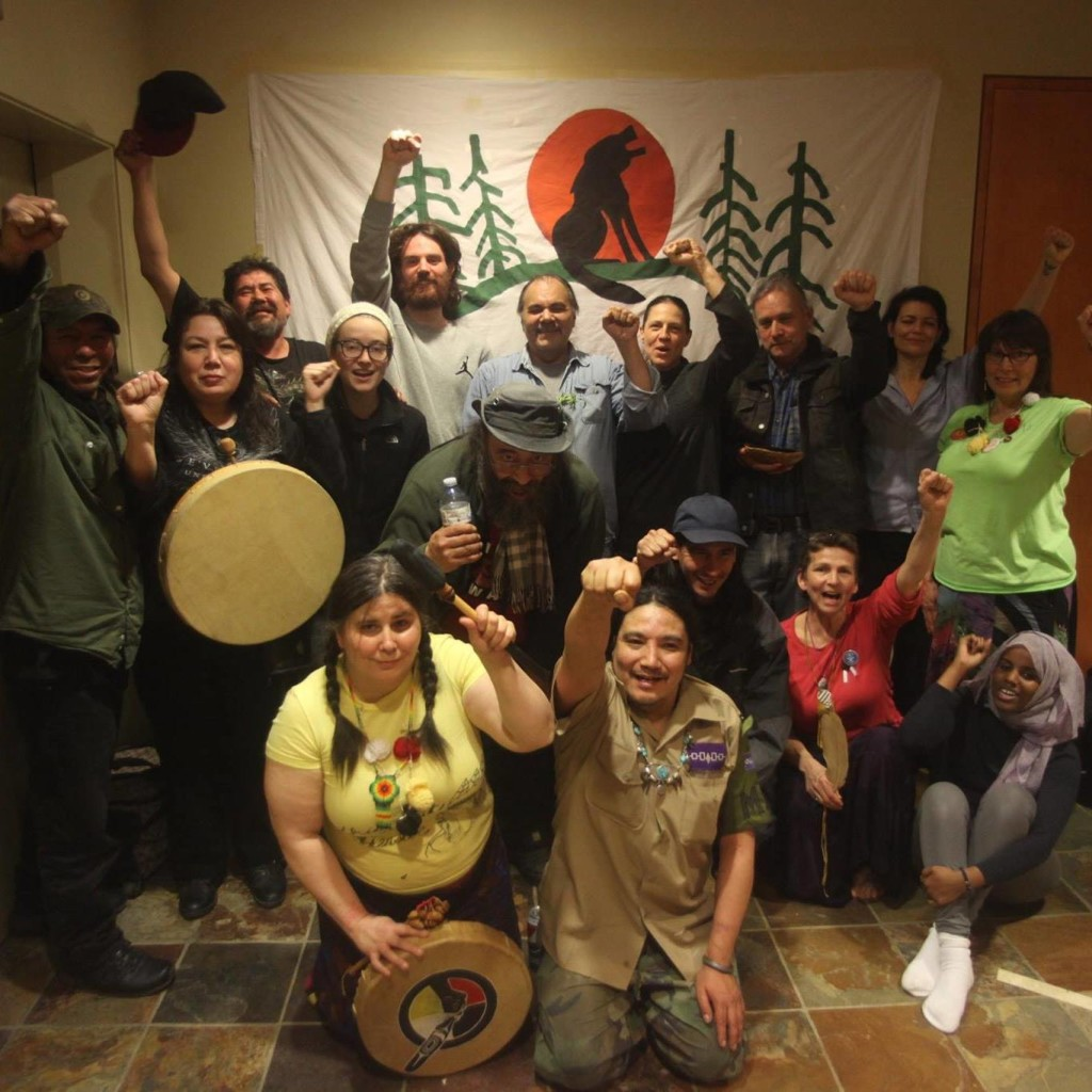 Occupiers Inside INAC offices