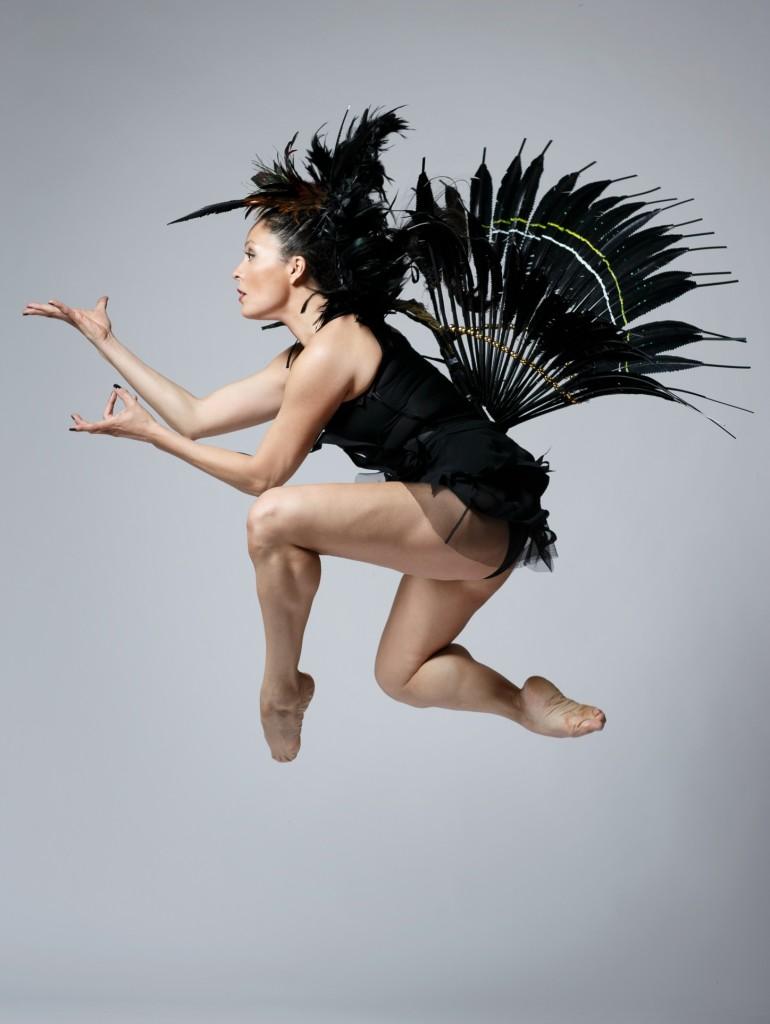 Santee Smith in performance | Image source: David Hou
