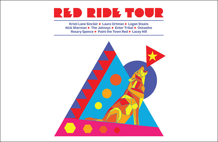 Red Ride Tour rides again! Indigenous musicians hit the road for the tour's sixth incarnation