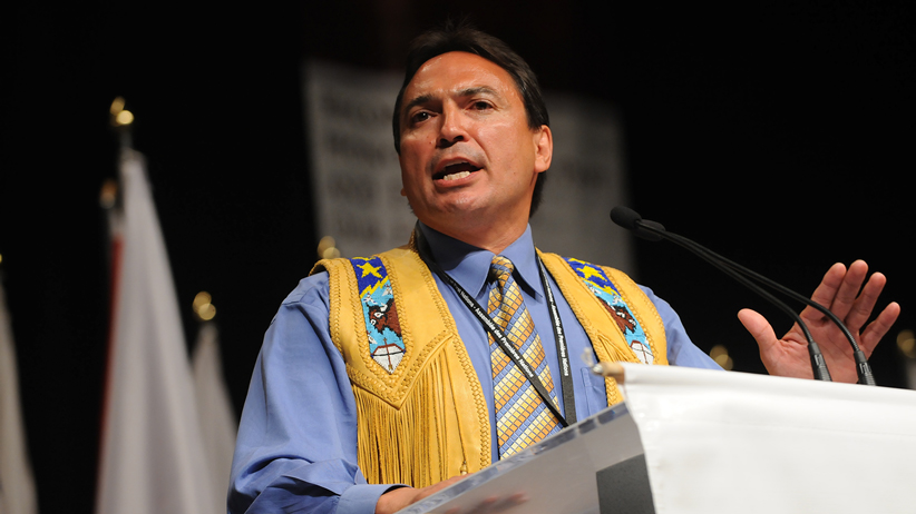 Image of Perry Bellegarde courtesy of his PR team. CREDIT: Fred Cattroll