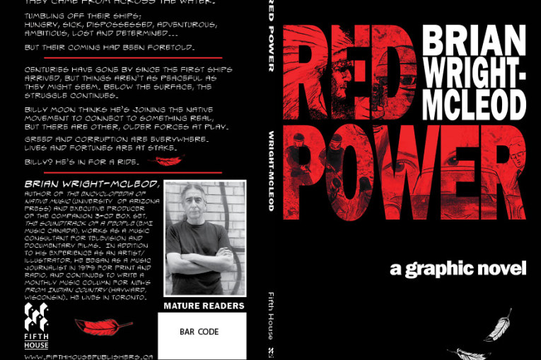 RED POWER: A GRAPHIC NOVEL BY BRIAN WRIGHT-MCLEOD
