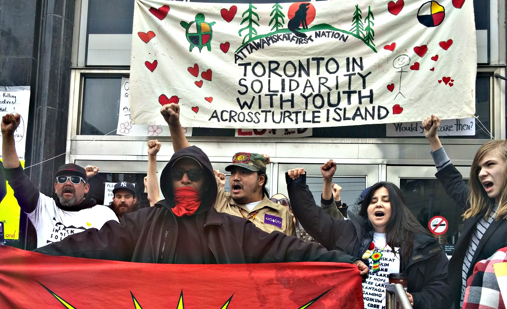INDIGENOUS ARTISTS AND ACTIVISTS REACH OUT TO  YOUTH IN ATTAWAPISKAT