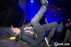 Tristan Martell showing off some dance moves at Velvet Underground| Image source: Dub Hub Toronto