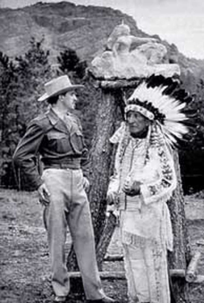 Chief Henry Standing Bear and Korczak Ziolkowski