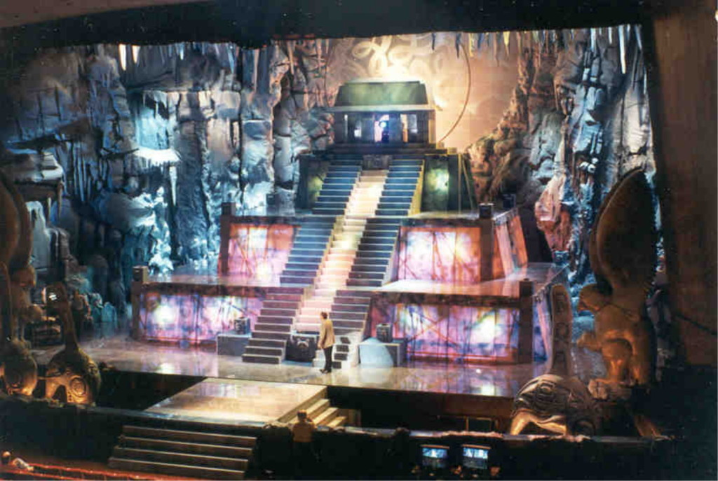 Another set design for the National Aboriginal Achievement Awards in 1997