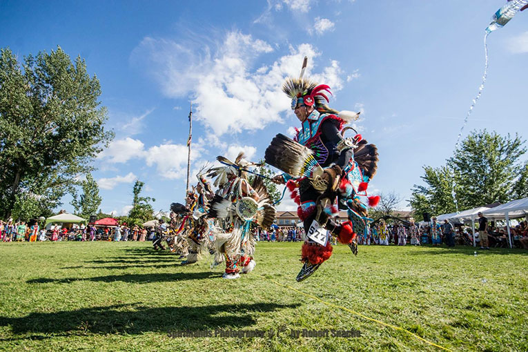 POWWOW TRAIL LEADS TO GATHERING