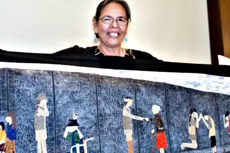 STITCHING TO HEAL THE PAST