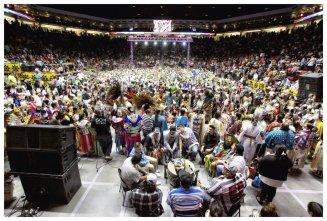 Gathering of Nations, 2014 / Photo by Taté Walker (Mniconjou Lakota)