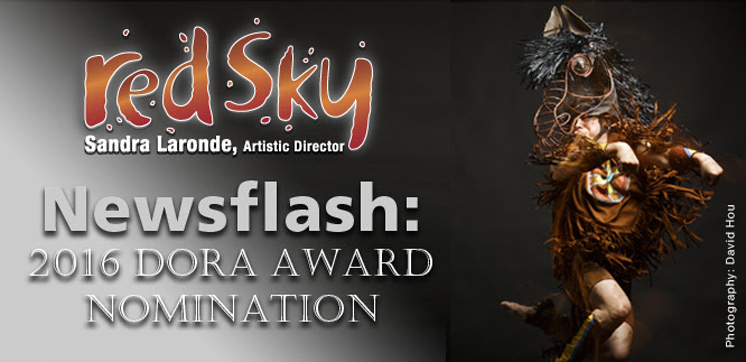MISTATIM NOMINATED FOR A 2016 DORA MAVOR MOORE AWARD
