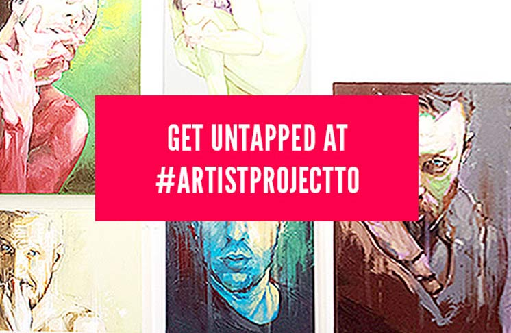 Artist Project's UNTAPPED Emerging Artist Competition