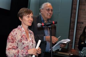 Erika MacPherson Accepts Coup de coeur du jury award