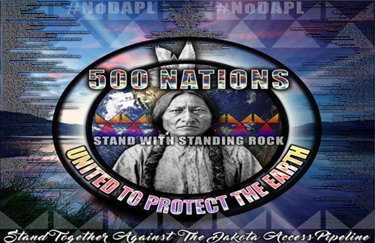 Round Dance in Support of the Water Protectors
