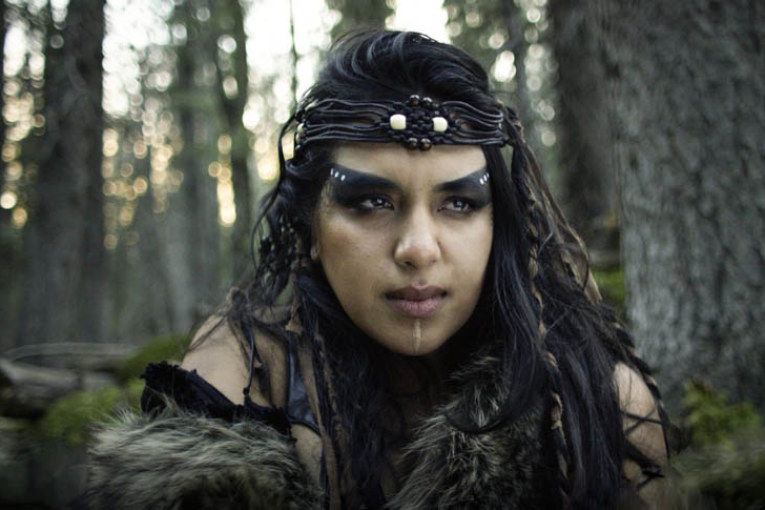 Actor Roseanne Supernault stars in new sci-fi thriller The Northlander
