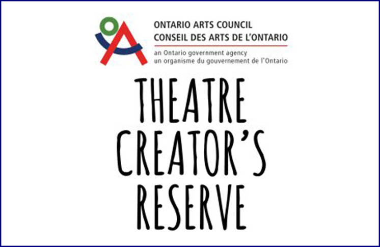 THEATRE CREATORS' RESERVE CALL FOR SUBMISSION