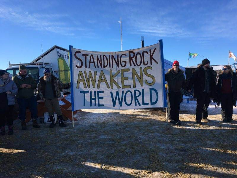 Standing Rock Awakens the World | Image source: Nelson Denman