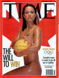 Waneek Horn-Miller on the Cover of Time Magazine