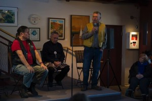 talking circle about the cultural and treaty history of Wasauksing First Nation and the Parry Sound region. | Image credit: Matt McGregor