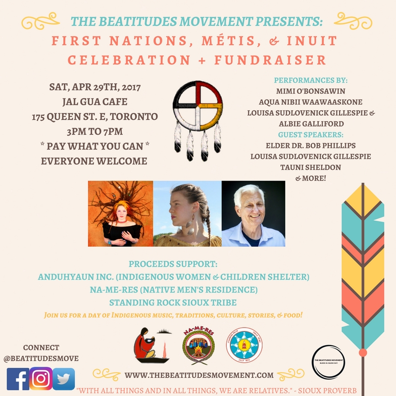 First Nations, Métis, & Inuit Celebration + Fundraiser