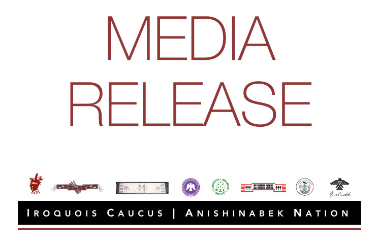 Iroquois Caucus-Anishinabek issue joint statement, letter to PM