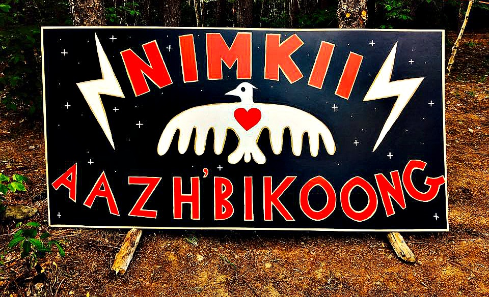 The sign for Culture Camp Forever| Image Source: Isaac Murdoch's Facebook