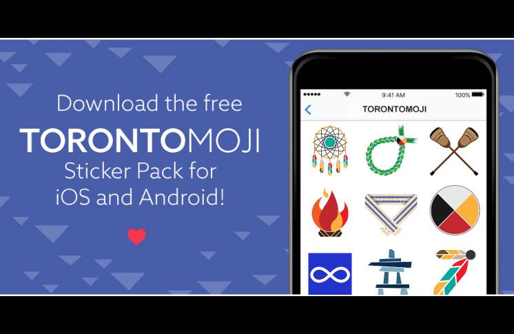 TORONTOMOJI Sticker Pack is Live!