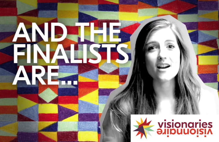 Meet Tomorrow's Visionaries: 6 CITIES. 36 VISIONARY IDEAS. BOOK YOUR TICKETS NOW.